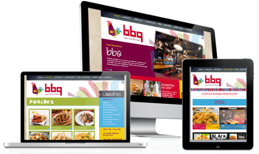 CRIAÇÃO DO SITE BBQ CHICKEN • desktop + mobile