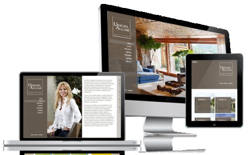 Novo site Debora Aguiar